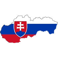 slovakian-flag-map