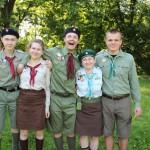 Софія (друга зліва) -щойно заприсяжена на ПрагУсСС-і