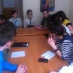 Під час установих сходин пластової групи у Чехії