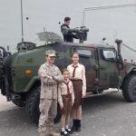 Пластуни відвідали військовий корабель Juan Carlos I L61