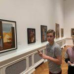 Латвійські пластуни відвідали Національний музей мистецтва в Ризі