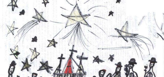 Пластовий Бетлегем (Вертеп), малюнок новачки Софії Сарваді, Станиця Хуст