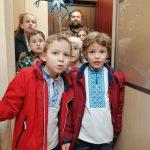 Латвійські пластуни колядують в Ризі