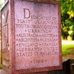 Пам'ятник на могилі Сірого Лева у Баффало