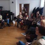 Перша зустріч представників пластових осередків Европи