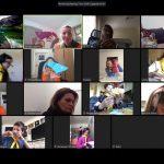 Перші онлайн сходини новацтва у Лондоні