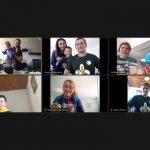 Рій «Ластівка»: перші онлайн сходини Пласту Данії