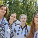 Пластуни у Фінляндії вітаюсть всіх з днем вишиванки