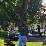 Пластуни взяли участь у Благочинній кави від Української Громади у Граці