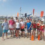 11 липня 2020 року пластуни з Валенсії, Іспанія, вчилися ходити на каяках