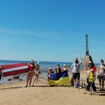Мандрівка латвійських новаків узбережжям Балтійського моря