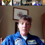 Віртуальний табір на Новому Соколі відвідала астронавтка Гайдемарі Стефанишин-Пайпер