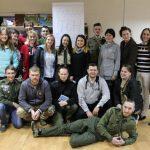 Учасники пластового вишколу для дійсних членів у Дніпрі 2017 року