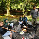 Перший пластовий табір в Данії, серпень 2020