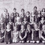 Марта Коломиєць - на фото - у верхньому раді друга зліва; а на фото - її новачки