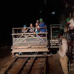 Пластуни Фінляндії відвідали музей-шахту Tytyri
