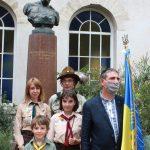 Пластуни Франції долучились до святкування 29 річниці незалежності України