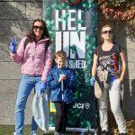 Фінські пластуни долучились до акції «Всесвітній день прибирання - World Cleanup Day»