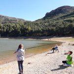 Осіння риболовля осередку пласту у Валенсії