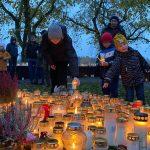 Українці Швеції відвідали поховання відомих українців у Стокгольмі