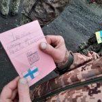 Малюнки фінських новаків потрапили до українських воїнів