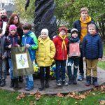 Латвійські пластуни взяли участь у відзначенні 5-ліття відкриття пам'ятника Т. Шевченку в Ризі