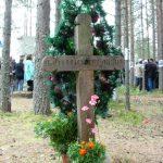 Хрест убієнним синам України, встановлений у Сандармоху з ініціятиви української інтелігенції
