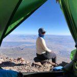 Оксана Літинська під час експедиції на гору Арарат, серпень 2020 року Фото: Yulia Zi/Facebook