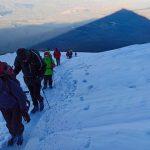 Сходження учасниць експедиції на гору Арарат Фото: uawomenexpedition.com