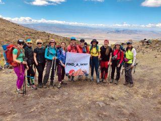Команда альпіністок Фото: uawomenexpedition.com