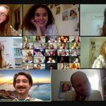 Пластова прем'єра – юнацькі гуртки в Німеччині відбули перший Андріївський вечір онлайн!