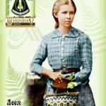 З нагоди 150-ліття Лесі Українки видано конверт, листівку та марку