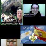 8 травня 2021 р. відбулись спільні сходини пластунів Іспанії та Аргентини