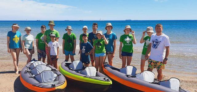 16 травня відбулась водна мандрівка пластунів Валенсії