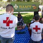 3 липня 2021 осередок Пласту в Іспанії провів навчання з першої медичної допомоги
