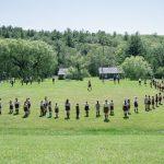 Розпочались літні пластові табори на оселі Вовча Тропа, США, 2021