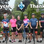 21 серпня успішно завершилась благодійна велосипедна подорож пластунів Канади