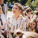 24 серпня пластуни зустрілись з Кетрин Винник, голівудська акторка українського походження