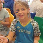 Майстерка з новацького табору в Австрії до Дня Незалежності України