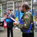 Українські пластуни Латвії взяли участь у відзначенні 30-ліття Незалежності України