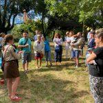 28 серпня відбулась презентація пласту в Нанті, Франція