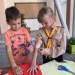 Перші новацькі сходини пластунів Кіпру присвячені темі дружби